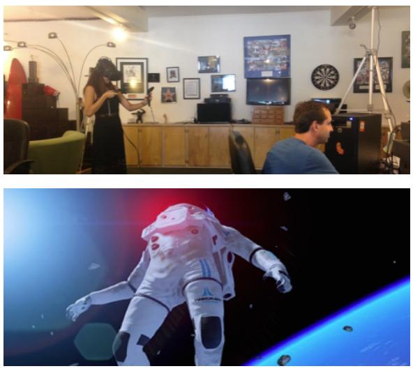Vive VR – Stars